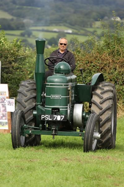 Sioe Llandysul 2017 - green tractor